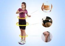 Centikben mérhető fogyás: egyszerűen használható, alakformáló Twister fitness korong, akár otthonra is