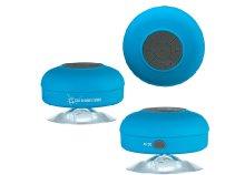 Vízálló zuhany Bluetooth hangszóró, gumírozott tapadókorongokkal, beépített akkumulátorral