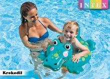 Krokodilos úszógumi 3-6 éves gyerekeknek