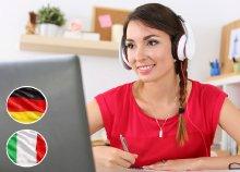 Olasz és német tanfolyam – e-learning csomag