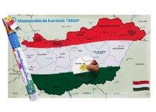 Magyarország kaparós térkép