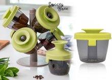 6 részes, designos fűszerfa fűszertartó