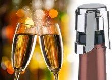 Reims ötletes, szorítószerkezetes pezsgődugó