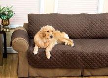 Kétoldalú kanapévédő takaró