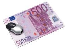 Egéralátét 500 EUR dizájnnal