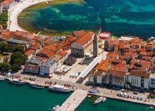 Horvátországi lazítás a tengerpart közelében