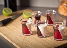 5 darabos twister feles poharak