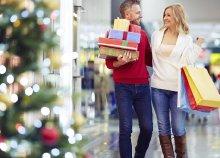 Vásárlás a bécsi Shoppig City Südben