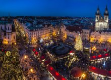 Adventi séta Prágában, a száztornyú városban
