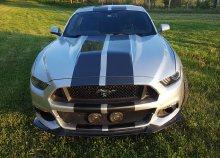 Száguldás a Kakucsringen 2016-os Mustang 'Eleanor'-ral  + 6 kör a Ford Fiesta-val