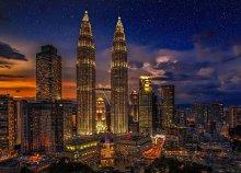 15 nap Malajziában és Szingapúrban - repülőjegy+idegenvezetés