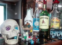 Asztalfoglalás szerepjátékhoz italokkal