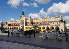 Téli városnézés a lengyelországi Krakkóban