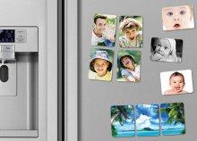 3 db saját fényképes hűtőmágnes