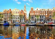 Téli séta a holland fővárosban Amszterdamban