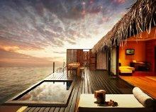 Vízre épült villa a Maldív-szigeteken