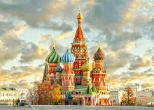 4 nap Moszkvában, reggelivel, buszos városnézéssel