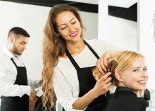 Hajmosás, szárítás, fonat és fejmasszázs