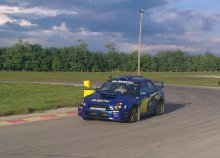 Subaru Impreza WRX vezetése a Hungaroringen