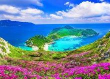 Vakáció a Jón-tengeren, Korfu szigetén