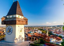 Buszos utazás Grazba és az Eggenberg kastélyhoz, magyar csoportkíséréssel
