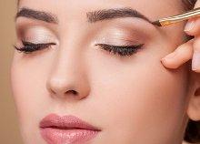 Ultrahangos arckezelés bőrtípusnak megfelelő szérummal, szemöldökszedéssel és –festéssel a Studio D Szalonban