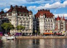4 napos városnézés 1 személyre Stockholmban, reggelivel, repülőjeggyel, 3*-os hotelben