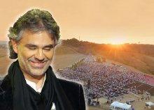 Andrea Bocelli koncert Toszkánában! 4 napos buszos utazás 1 főre reggelivel, idegenvezetéssel, belépővel