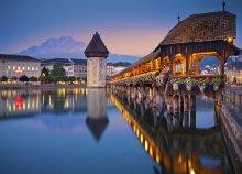 Autóbuszos körutazás Svájcban, önellátással, 4 éjszaka szállással holiday home-ban, idegenvezetéssel