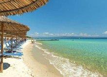 11-15 nap 2 főre Görögországban, a Chalkidiki-félszigeten, busszal, önellátással, a Vila Christosban