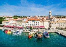 4 napos nyaralás Krk-szigeten, az Adrián, Horvátországban, busszal, félpanzióval, idegenvezetéssel
