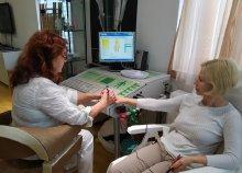 Teljes körű állapotfelmérés IBR-System készülékkel és terápiás kezelés a Hóvirág Egészségügyi Klubban