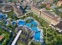 8 nap Sidében, repülőjeggyel, ultra all inclusive ellátással, a Sunis Kumköy Beach Resort Hotel & Spában*****