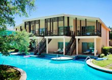 8 nap luxus Sidében, ultra all inclusive ellátással, repülőjeggyel, az ötcsillagos Sueno Hotels Beachben