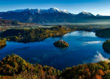 Őszi buszos kirándulás a Bledi-tóhoz, 1 éjszaka szállással 3*-os szállodában, félpanzióval és idegenvezetéssel