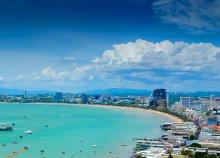 7 éjszaka Pattayán a Pattaya Sea View*** hotelben és 2 éjszaka a bangkoki a Cha Da hotelben