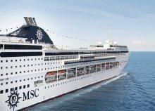 Ázsiai hajóút Dubaj és India érintésével az MSC Lirica fedélzetén, a hajón teljes ellátással