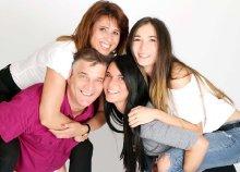 2020-as családi naptárfotózás 6 fő részére a Blende Fotó Stúdiótól