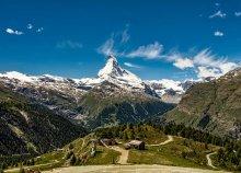 5 napos kirándulás a téli Alpokban, Svájcban, vonatozás a híres Glacier Expresszel, buszos utazással
