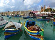 8 nap 2 főre Máltán, a bugibbai Topaz*** Hotelben, félpanzióval, repülőjeggyel és illetékkel