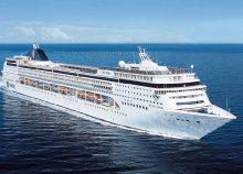 Földközi-tengeri hajóút az MSC Opera fedélzetén, kiutazással, a hajón teljes ellátással, idegenvezetéssel