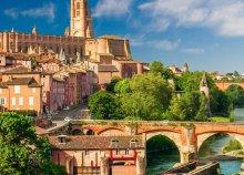 8 napos körutazás Dél-Franciaországban, középkori városok, kastélyok és kolostorok földjén, repülőjeggyel