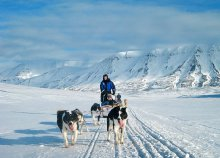 8 napos jeges kaland a Spitzbergákon, repülőjeggyel, illetékkel, reggelivel