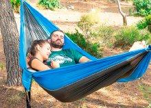 InnovaGoods Gadget Travel Swing & Rest Kemping dupla függőágy