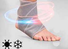 InnovaGoods Wellness Care gél bokavédő hideg és meleg hatással