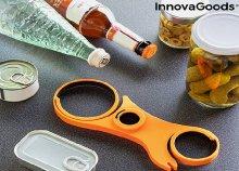 InnovaGoods Kitchen Foodies 5 az 1-ben multifunkcionális palacknyitó