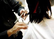 Női hajvágás akár hosszú hajra is a Jászai Mari tér mögött, a The Global Beauty szalonban
