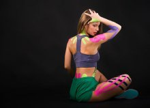 Kinesio Tape ragasztása a belvárosi Perfect Beauty Centerben