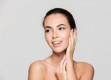 Bőrfiatalító kezelés elektrokozmetikai eljárásokkal, hatóanyagokkal, arcmasszázzsal és cryoterápiával