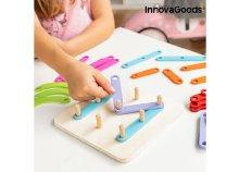 Fajáték betűk és számok kialakításához Koogame InnovaGoods 27 darabos